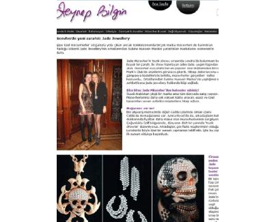 Jade Jewellery Zynep Bilgin online 2014