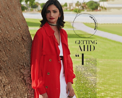 Jade Jewellery Ahd Kamel in Harper's Bazaar Arabia 2018